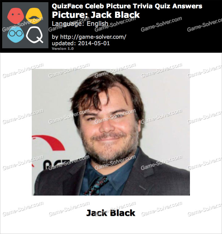 QuizFace Level Jack Black