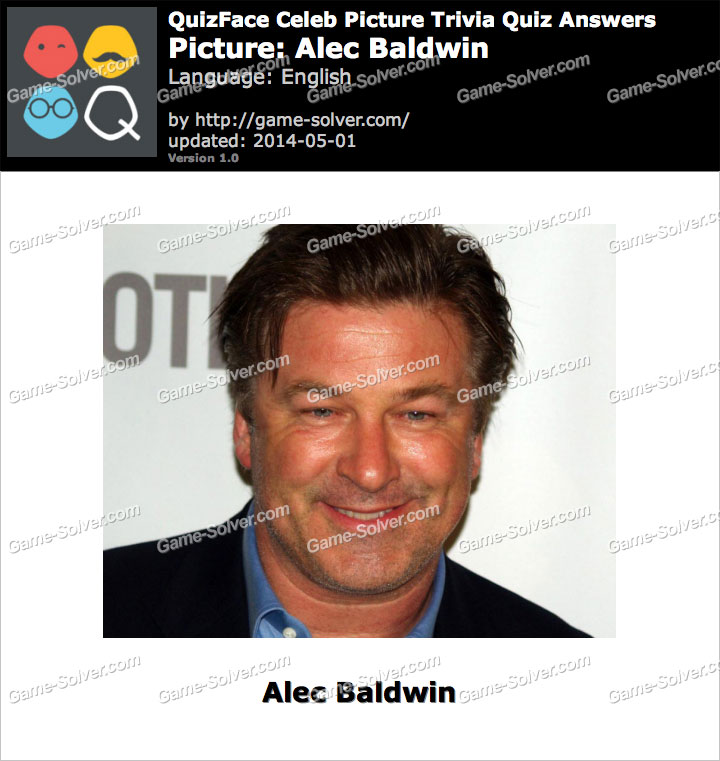 QuizFace Level Alec Baldwin