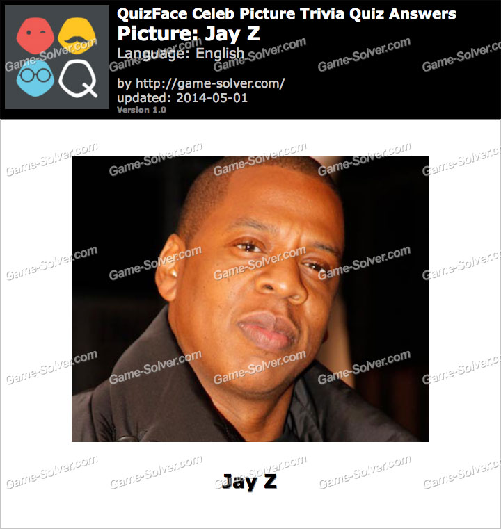 QuizFace Level Jay Z