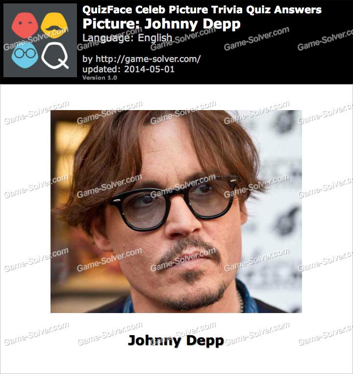 QuizFace Level Johnny Depp