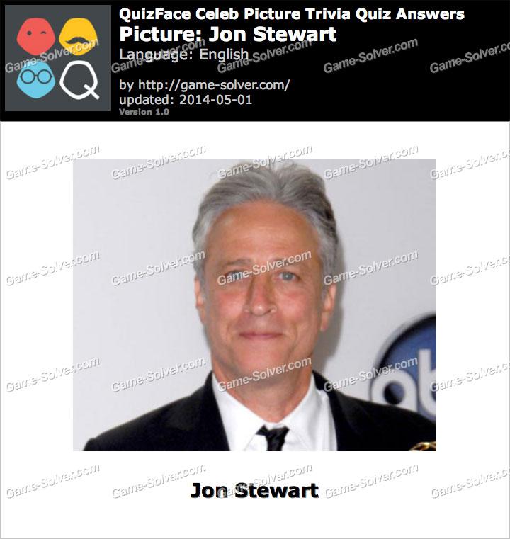 QuizFace Level Jon Stewart