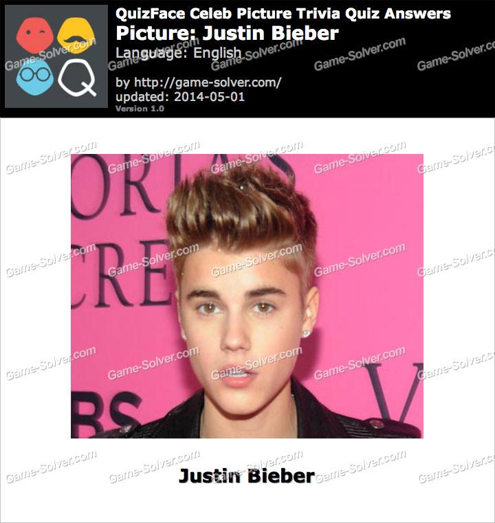QuizFace Level Justin Bieber