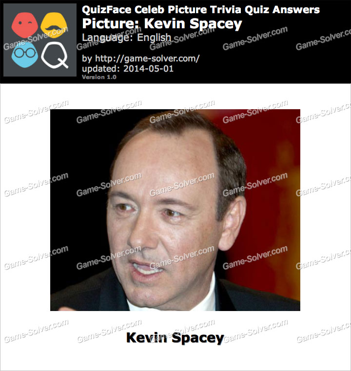 QuizFace Level Kevin Spacey