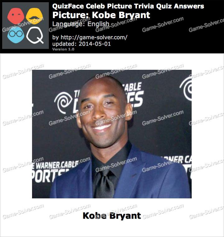 QuizFace Level Kobe Bryant