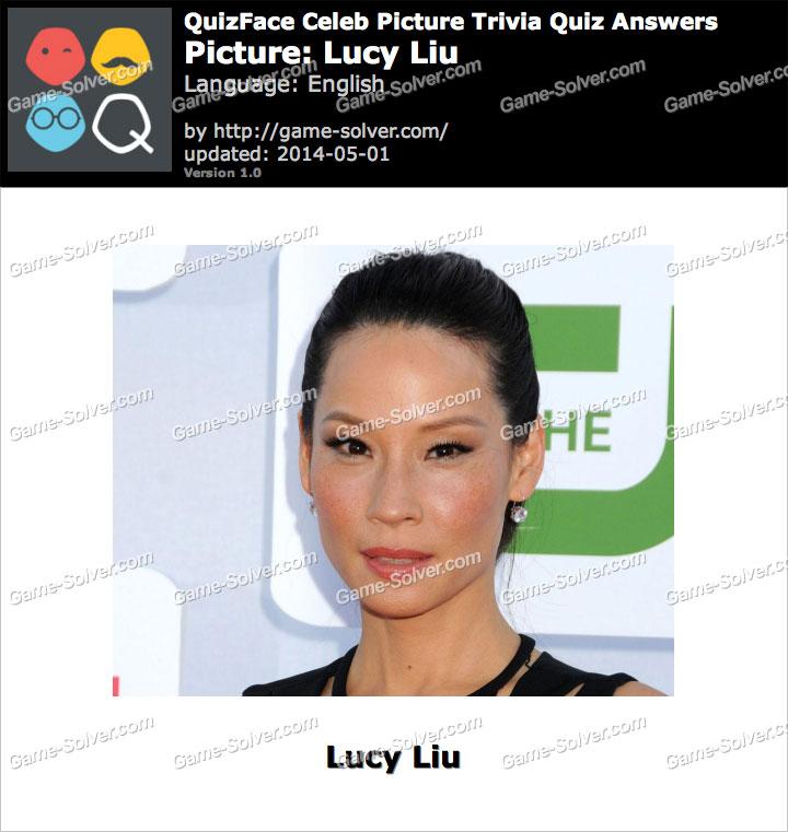 QuizFace Level Lucy Liu