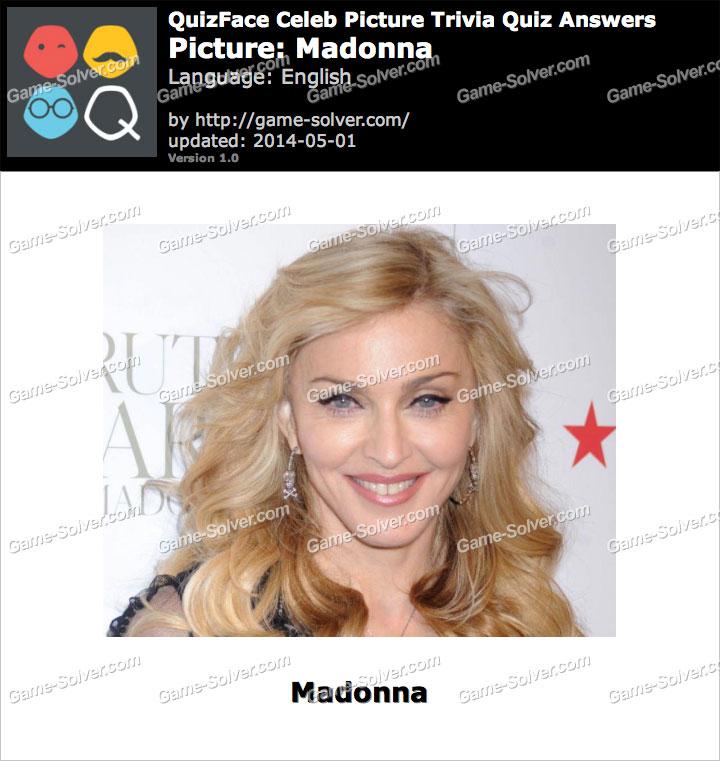QuizFace Level Madonna