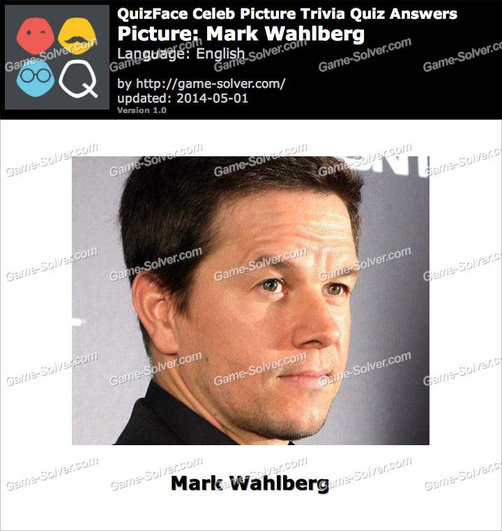 QuizFace Level Mark Wahlberg