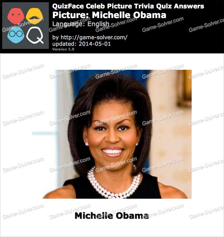 QuizFace Level Michelle Obama