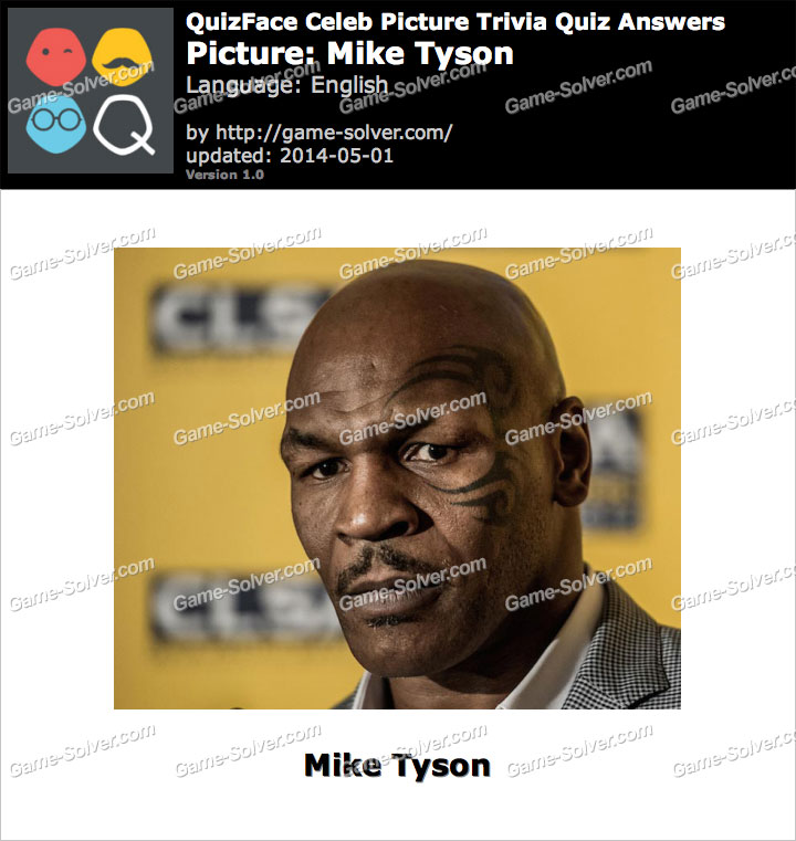 QuizFace Level Mike Tyson