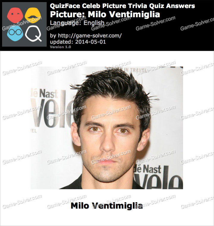 QuizFace Level Milo Ventimiglia