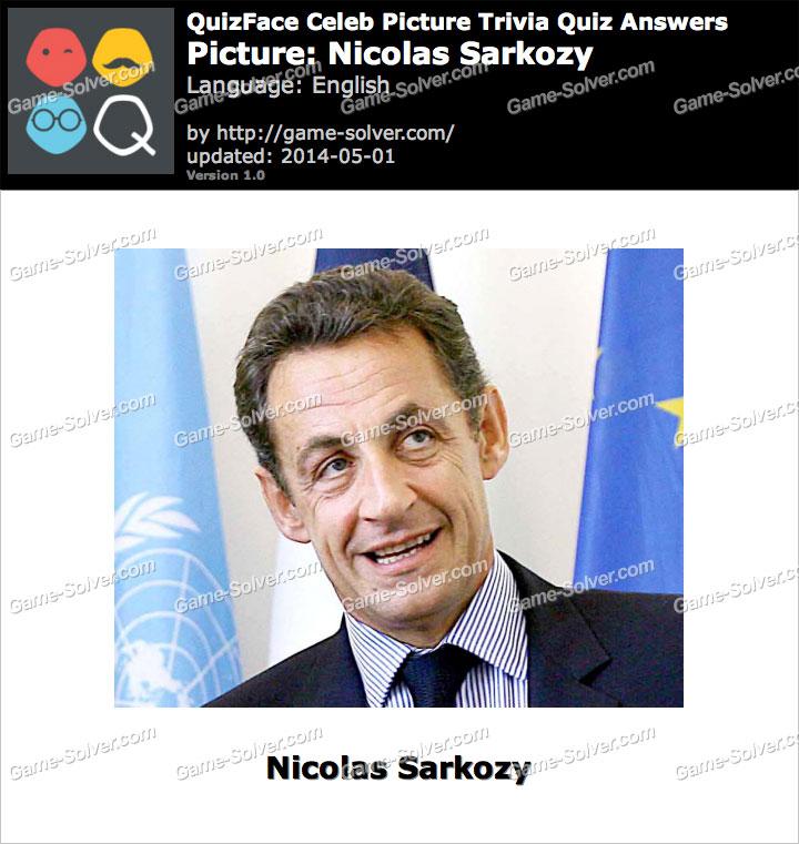 QuizFace Level Nicolas Sarkozy
