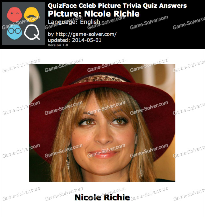 QuizFace Level Nicole Richie