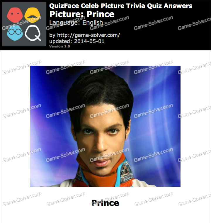 QuizFace Level Prince