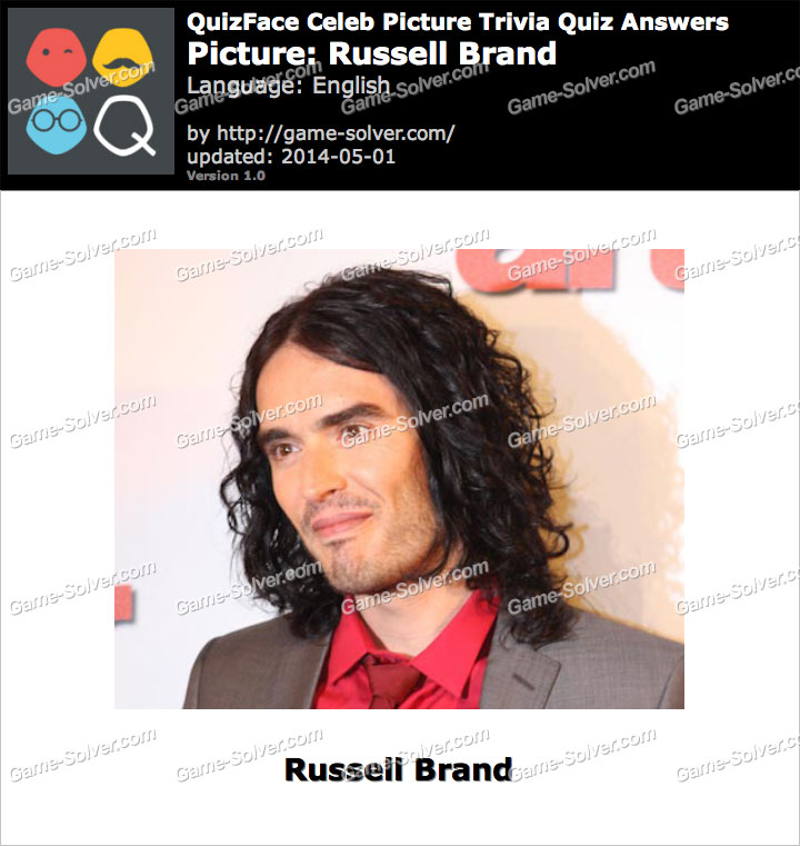 QuizFace Level Russell Brand