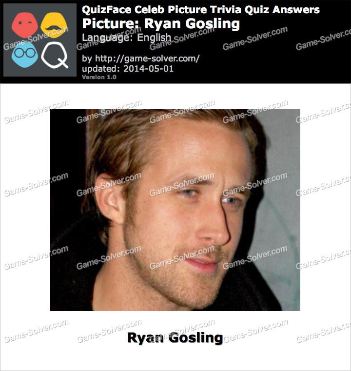 QuizFace Level Ryan Gosling