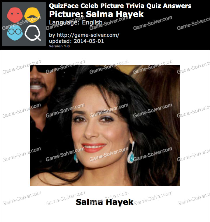 QuizFace Level Salma Hayek