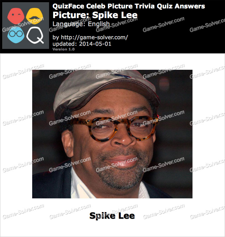 QuizFace Level Spike Lee
