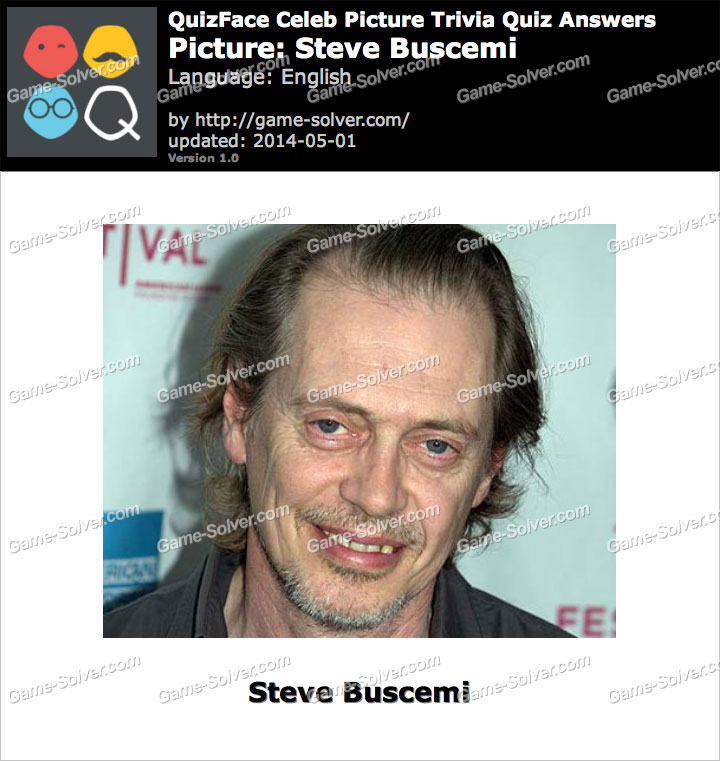 QuizFace Level Steve Buscemi