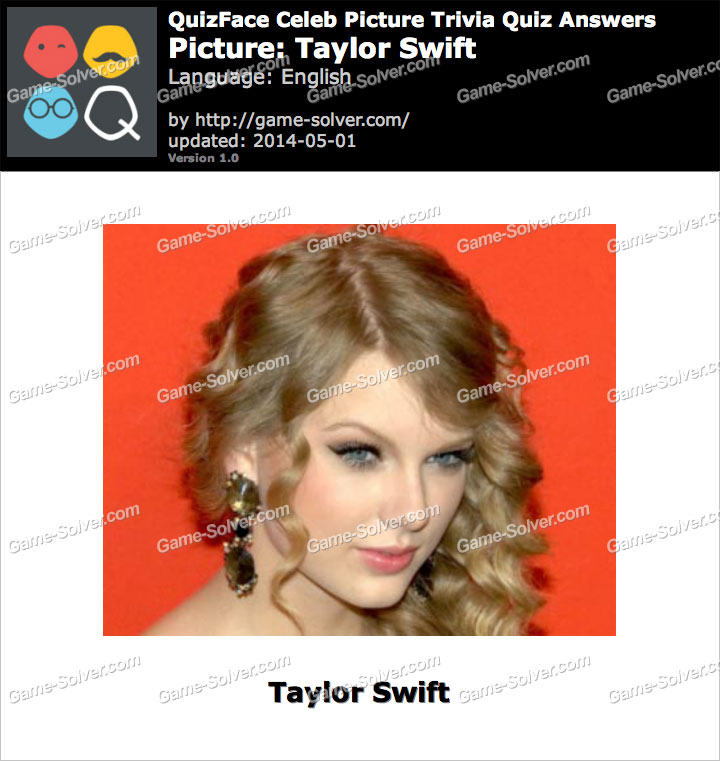QuizFace Level Taylor Swift