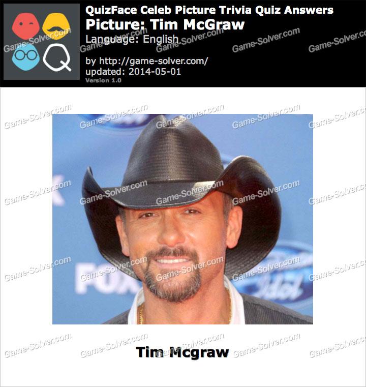 QuizFace Level Tim McGraw