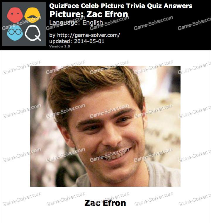 QuizFace Level Zac Efron