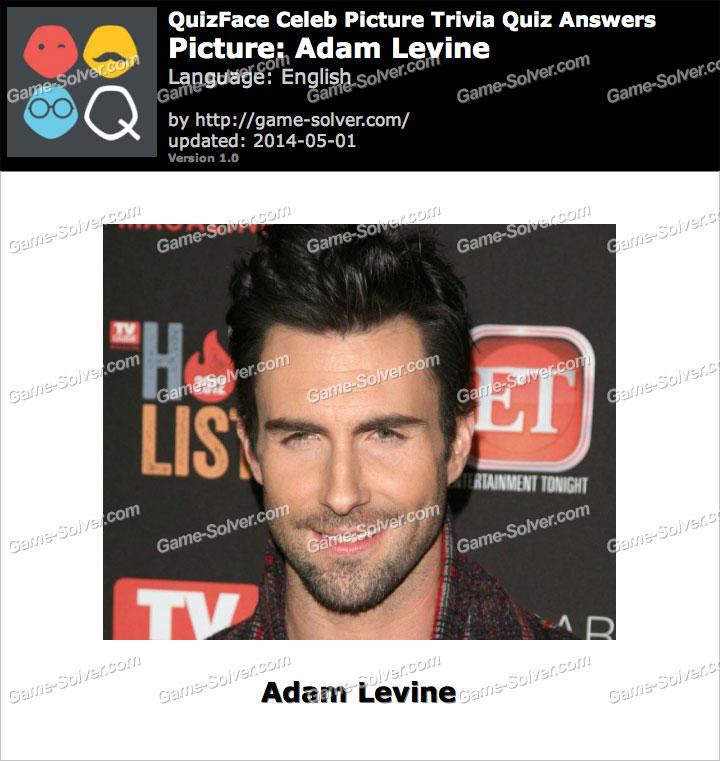 QuizFace Level Adam Levine