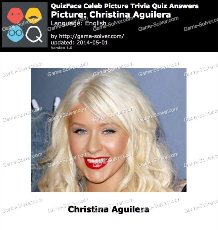 QuizFace Level Christina Aguilera