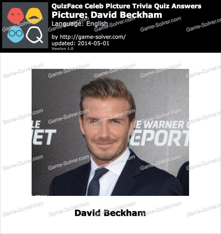 QuizFace Level David Beckham