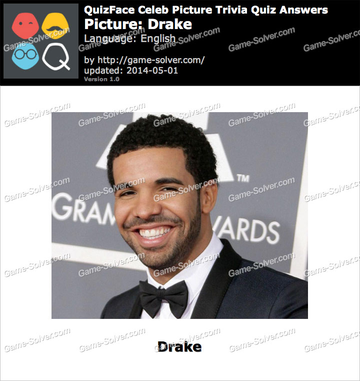 QuizFace Level Drake