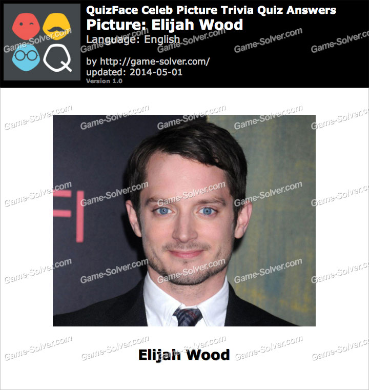 QuizFace Level Elijah Wood