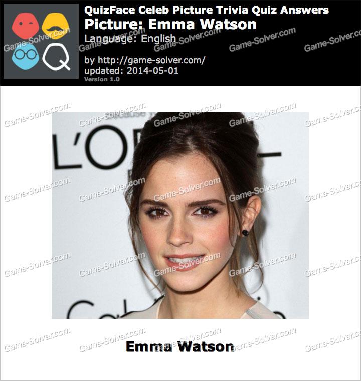 QuizFace Level Emma Watson