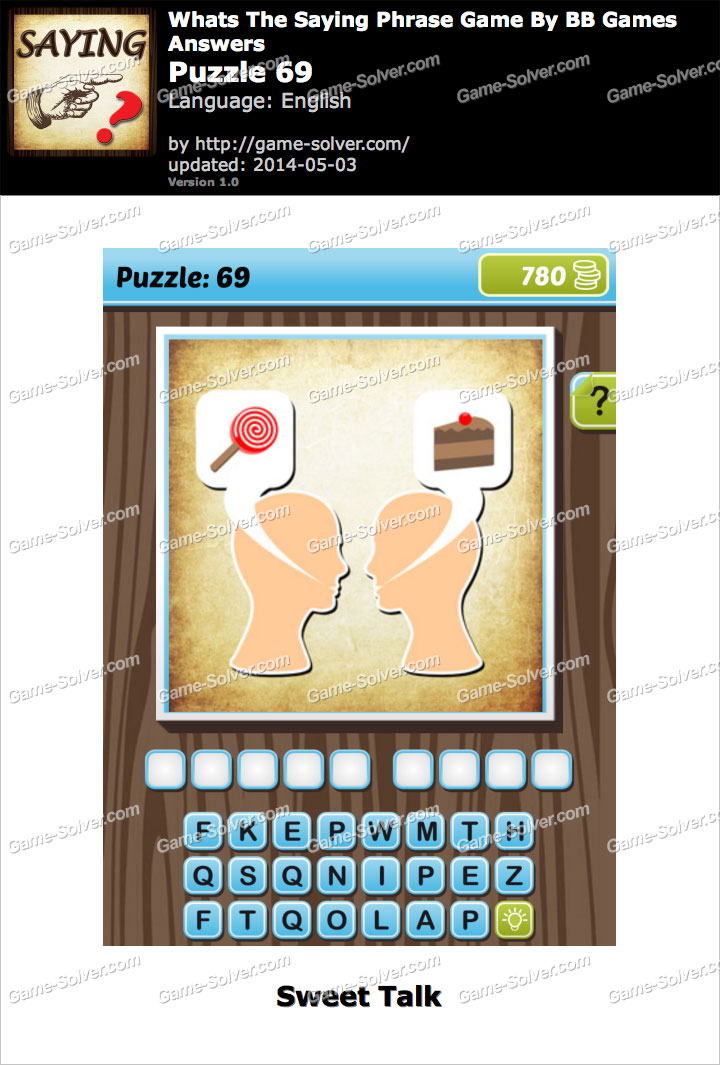 What's The Saying Phrase Game Puzzle 69