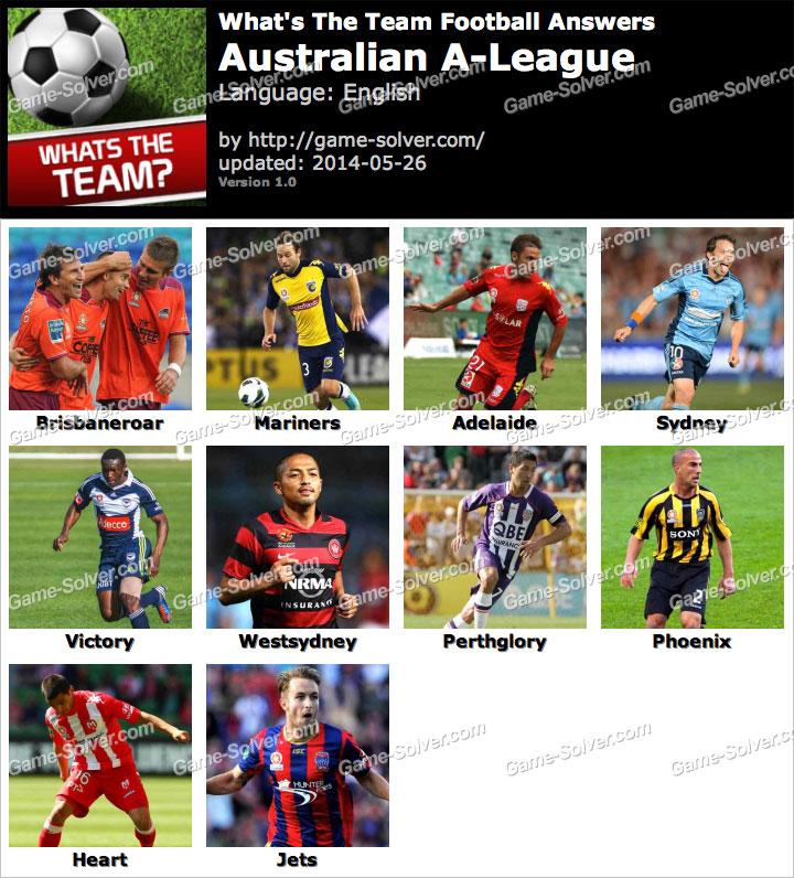 What's The Team Australian A-League Answers