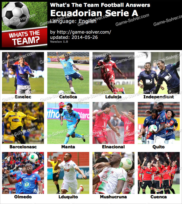 What's The Team Ecuadorian Serie A Answers