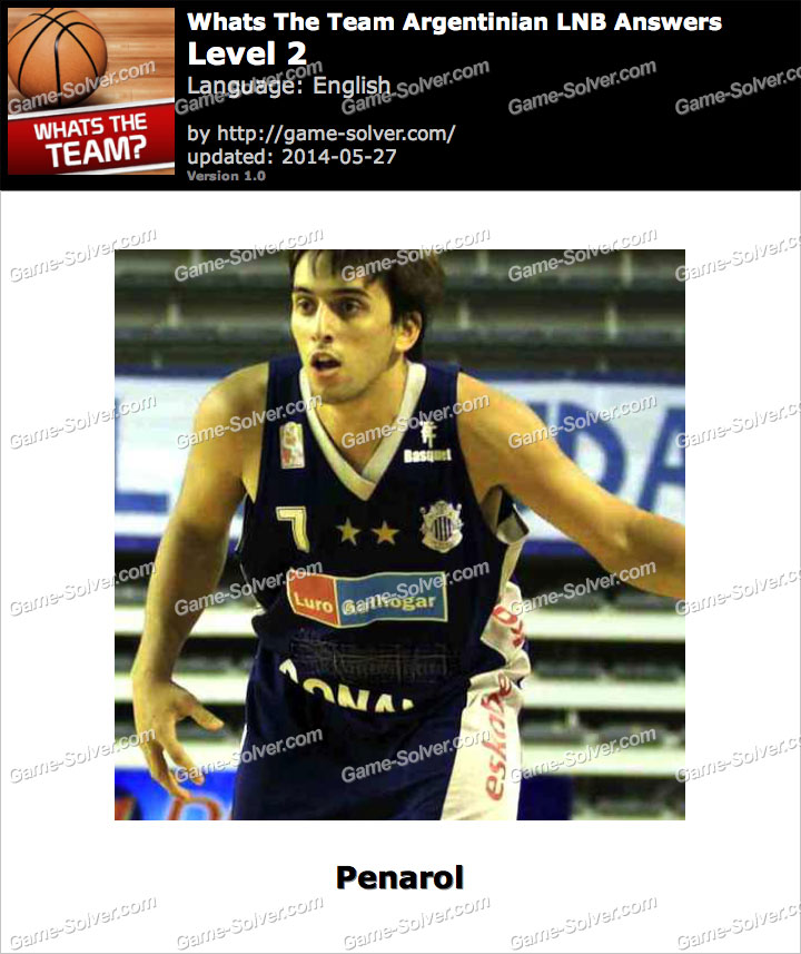Whats The Team Argentinian LNB Level 2