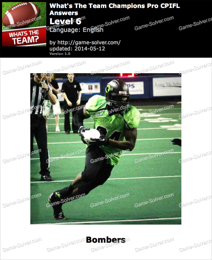 What's The Team Champions Pro CPIFL Level 6
