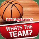 Whats The Team Italian Lega Basket A Answers