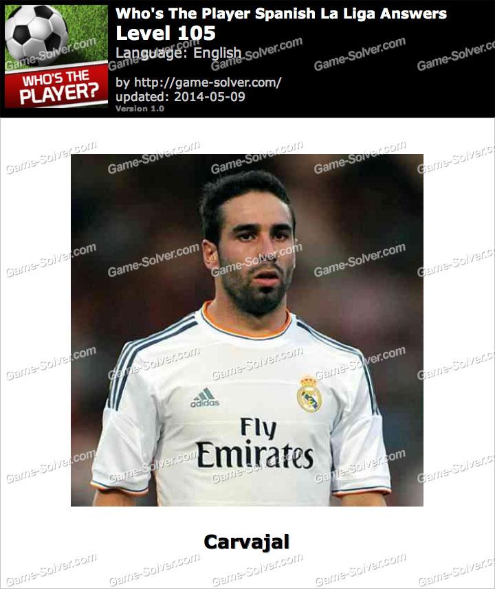 Who's The Player Spanish La Liga Level 105