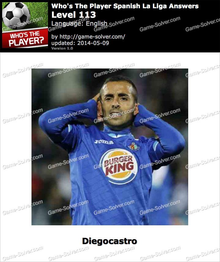Who's The Player Spanish La Liga Level 113