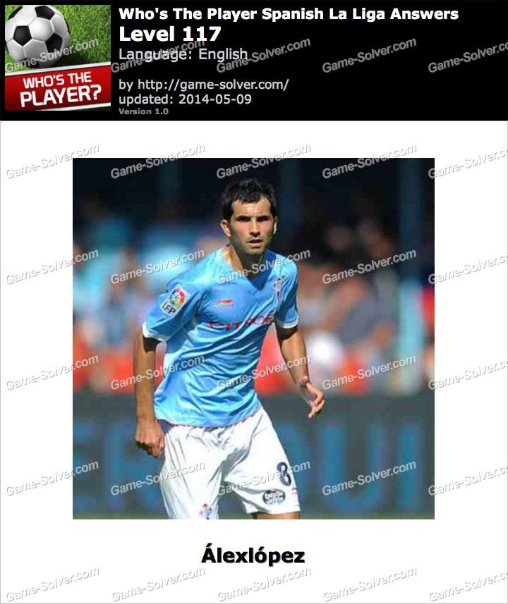 Who's The Player Spanish La Liga Level 117