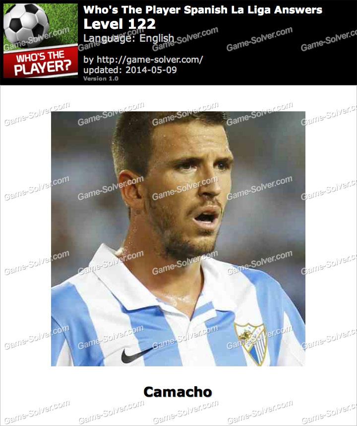 Who's The Player Spanish La Liga Level 122