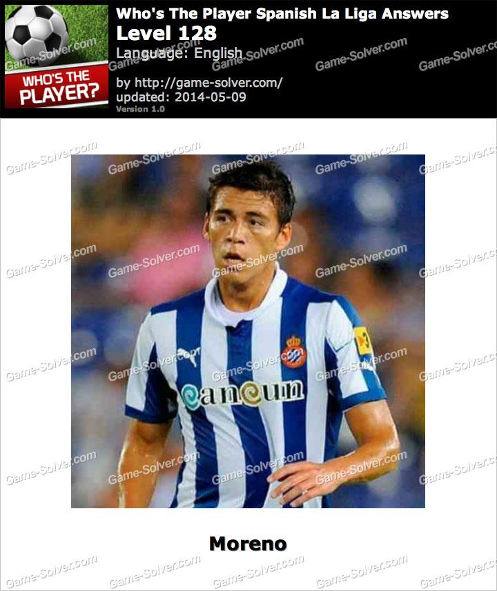 Who's The Player Spanish La Liga Level 128