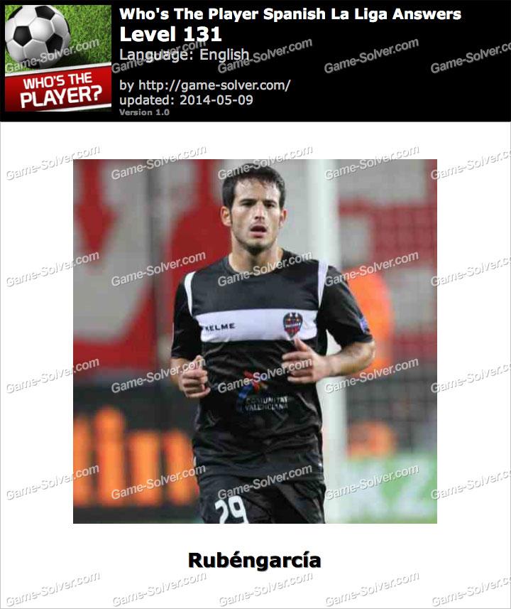 Who's The Player Spanish La Liga Level 131