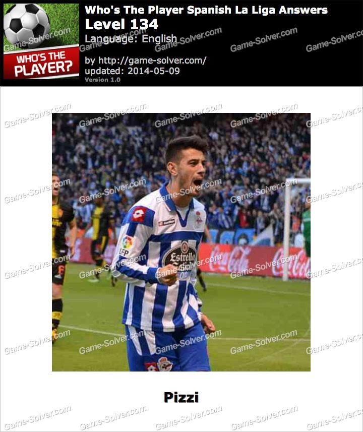 Who's The Player Spanish La Liga Level 134