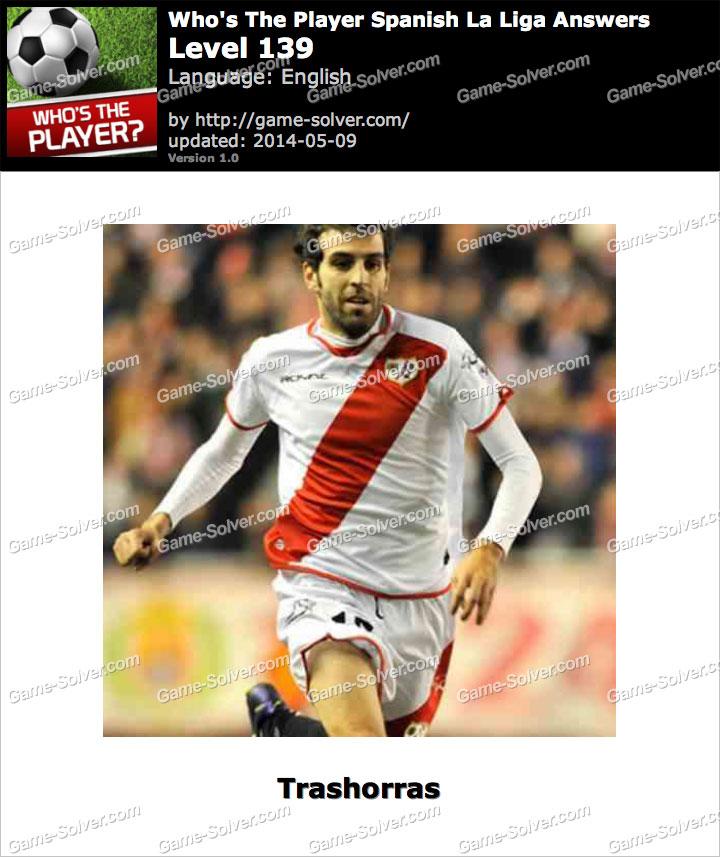 Who's The Player Spanish La Liga Level 139