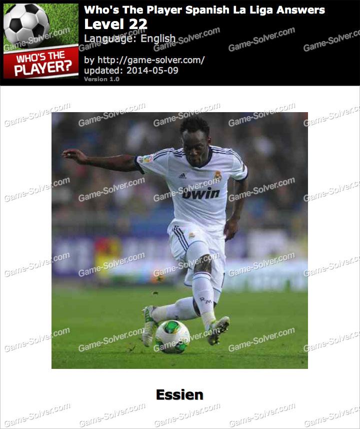 Who's The Player Spanish La Liga Level 22