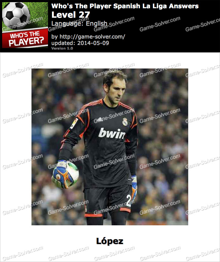 Who's The Player Spanish La Liga Level 27