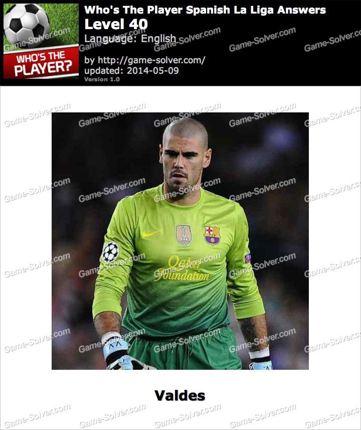 Who's The Player Spanish La Liga Level 40