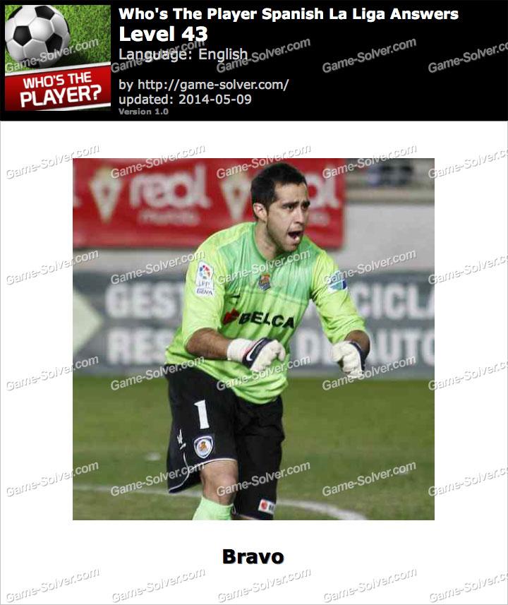 Who's The Player Spanish La Liga Level 43