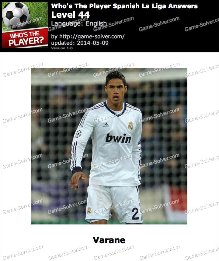 Who's The Player Spanish La Liga Level 44